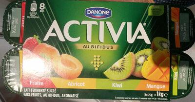 Lait fermenté sucré aux fruits, au bifidus, aromatisé - Produit