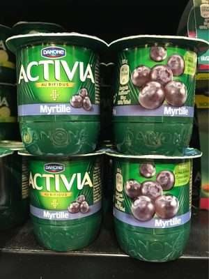 Activia myrtille - Product
