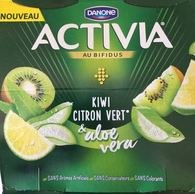Activia Kiwi Citron Vert & Aloe Vera - Product - fr