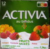 Activia fruits mixés - Product