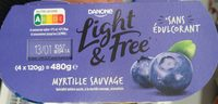 Light & free myrtille sauvage - Produit - fr
