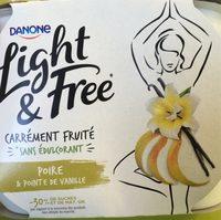 Light & Free Poire & Pointe de Vanille - Product