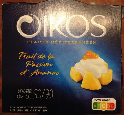 Oikos fruit de la passion et ananas - Product