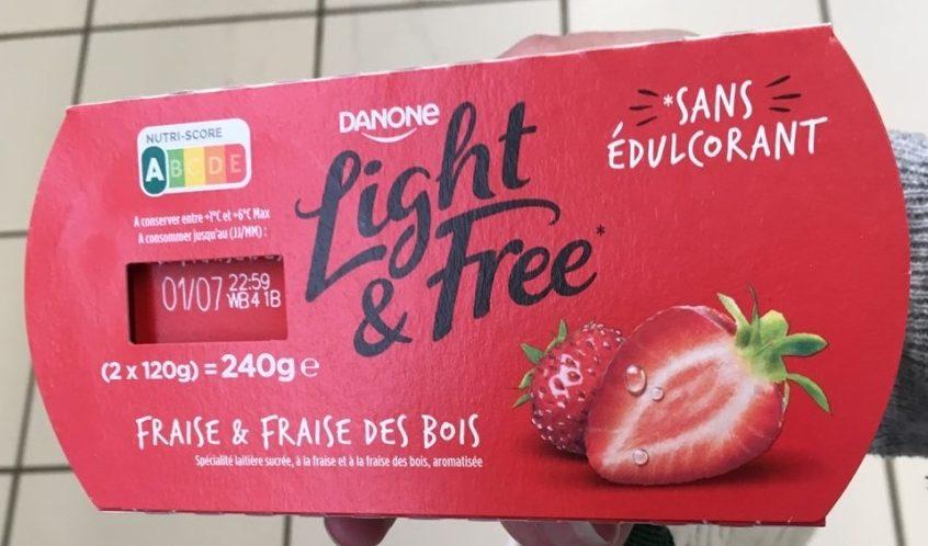Light & Free Fraise et Fraise des Bois - Produit