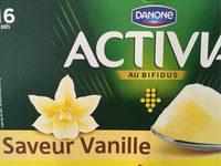 Activia saveur vanille - Produit