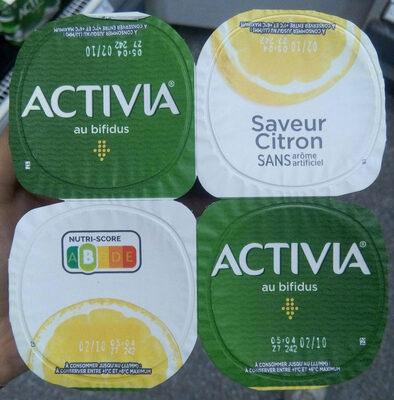Activia saveur citron - Produit