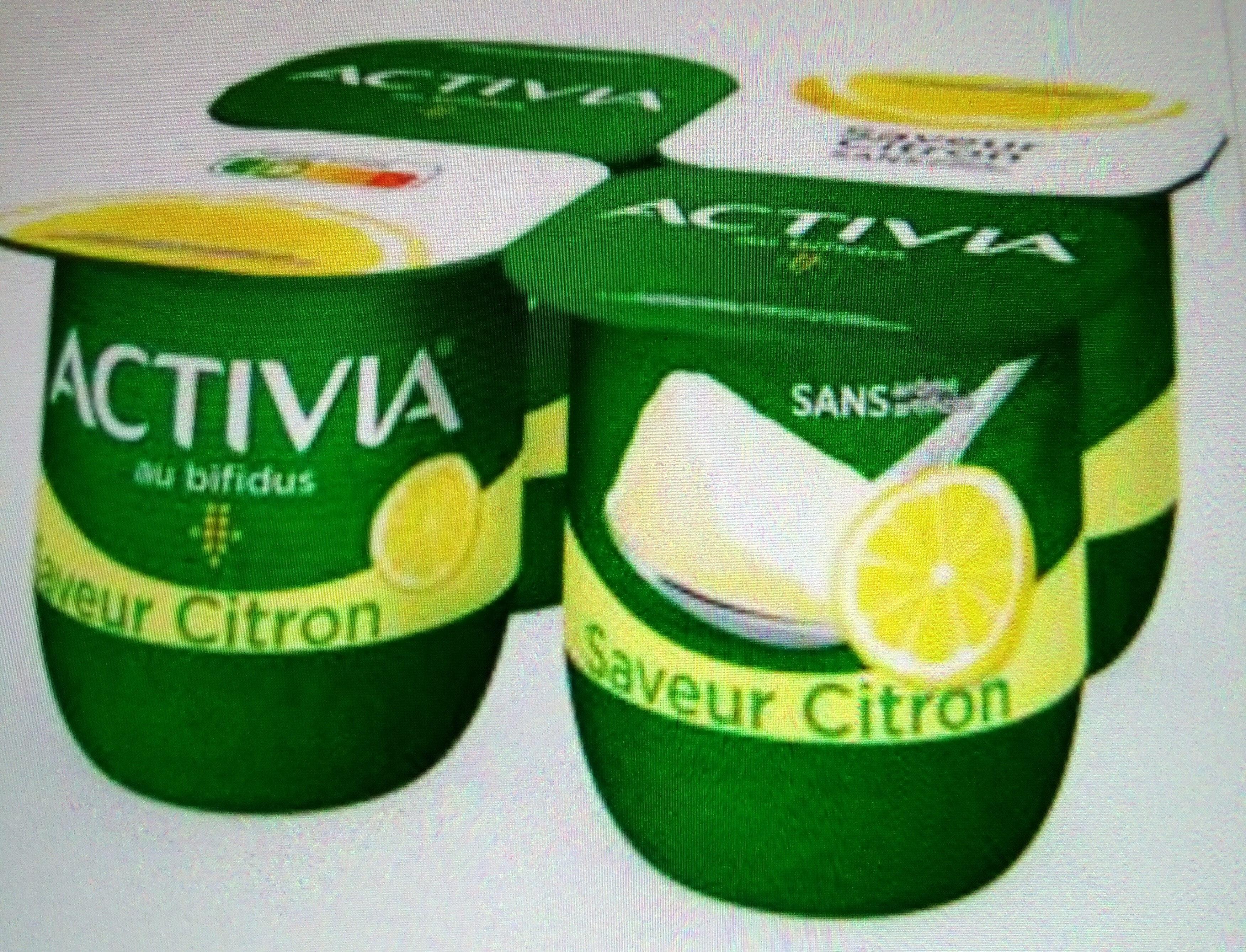 Activia saveur citron - Product - fr
