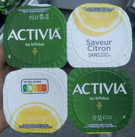 Activia saveur citron - Produit - fr