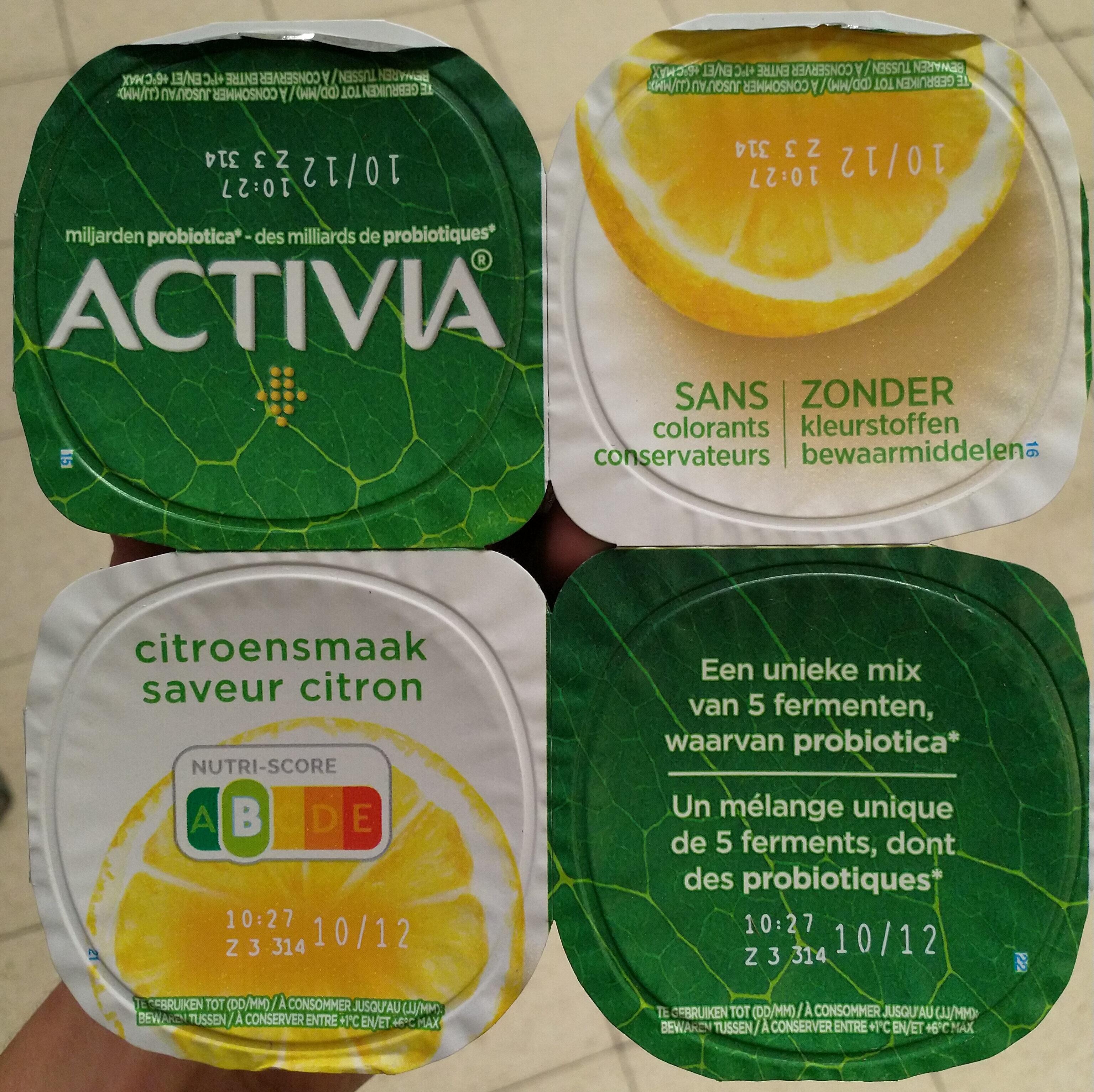 Activia saveur citron - Product - nl