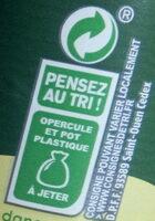 Activia saveur citron - Recyclinginstructies en / of verpakkingsinformatie - fr