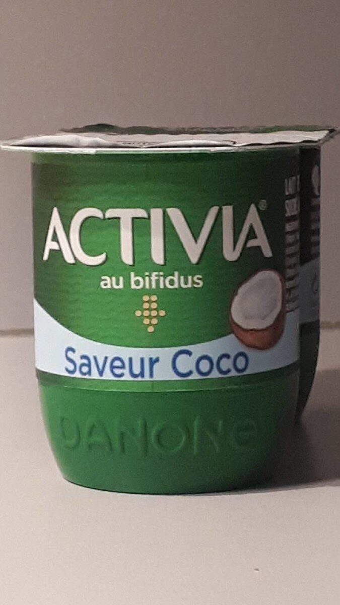 Activia saveur coco - Product - fr