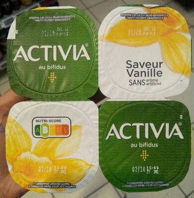 Activia vanille - Produit