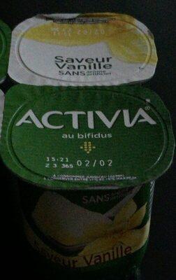 Lait fermenté sucré, aromatisé - Saveur vanille - Produit - fr