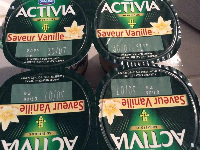 Lait fermenté sucré, aromatisé - Saveur vanille - Product - fr