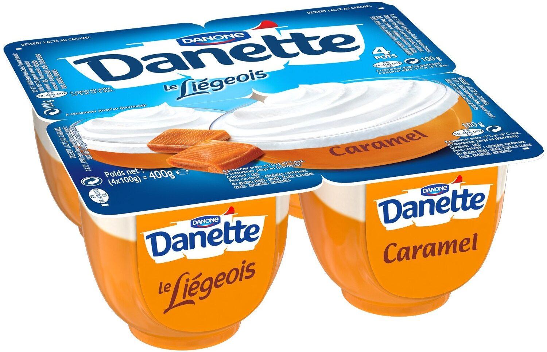Le liégeois caramel - Produit - fr