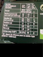 Activia Granola Graines d'Amarante - Voedingswaarden - fr
