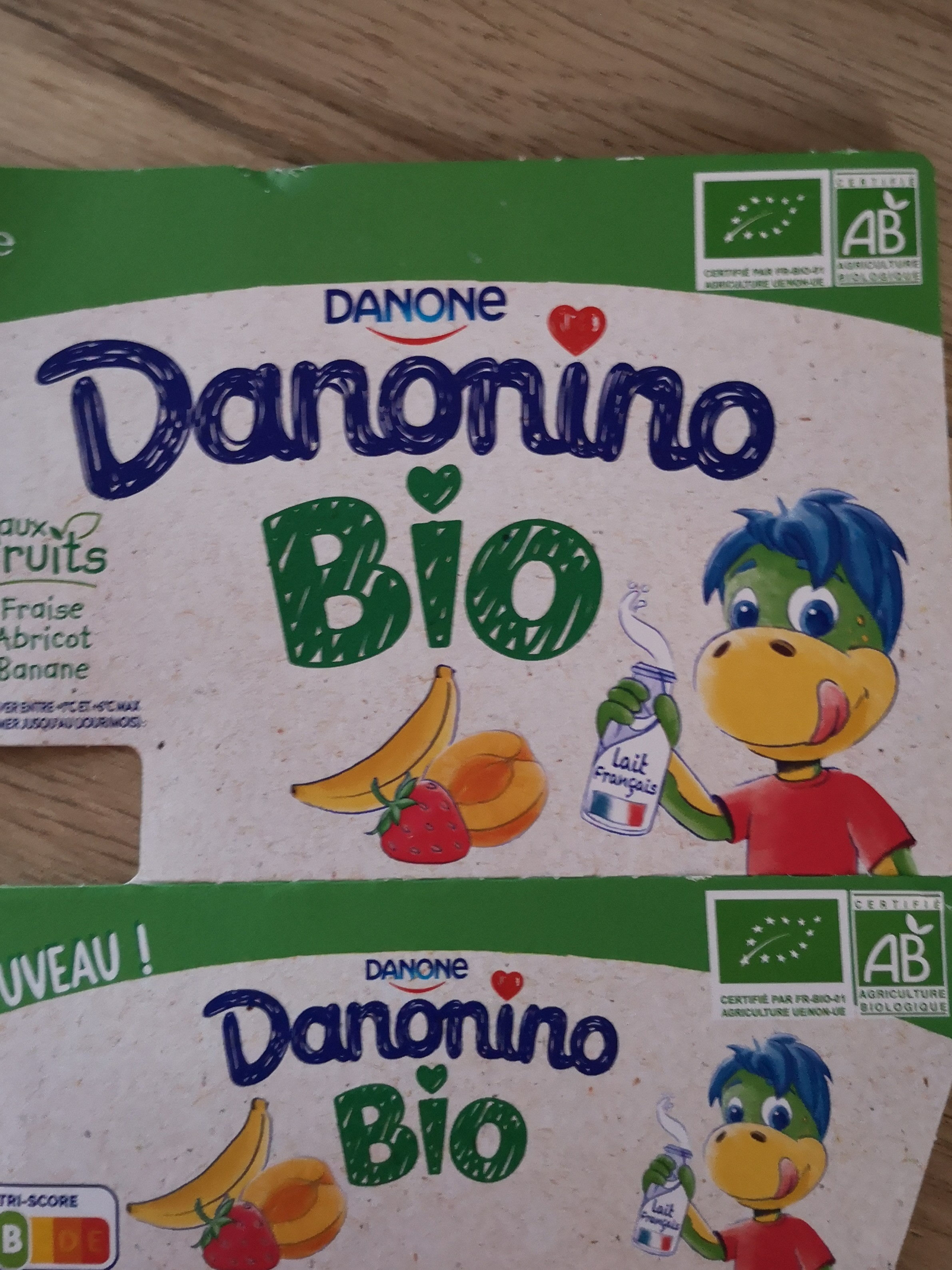 Danonino bio - Produit - fr