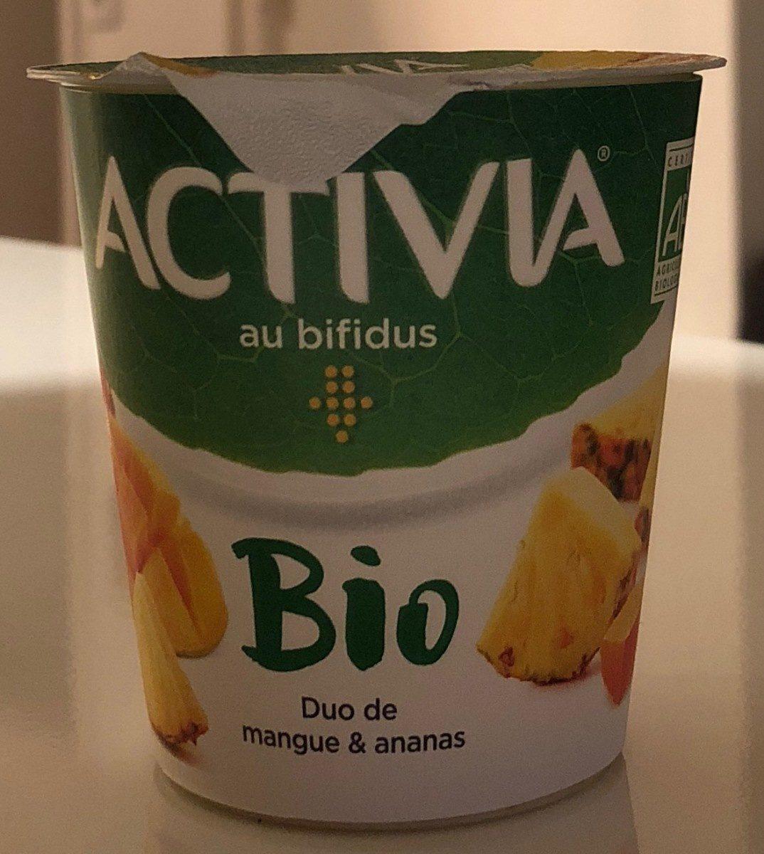 Yaourt Activia Duo mangue ananas - Produit