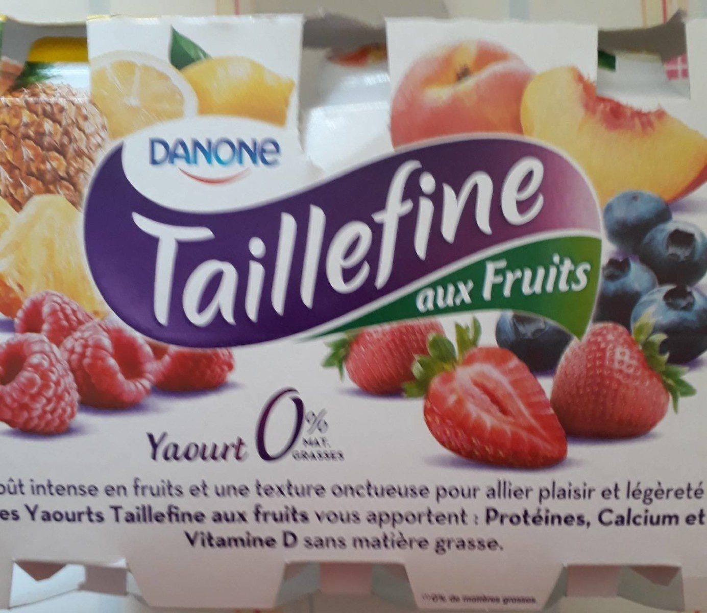 Taillefine aux fruits 0% mat. Grasses - Product