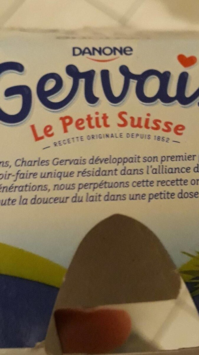Gervais le petit suisse - Product - en