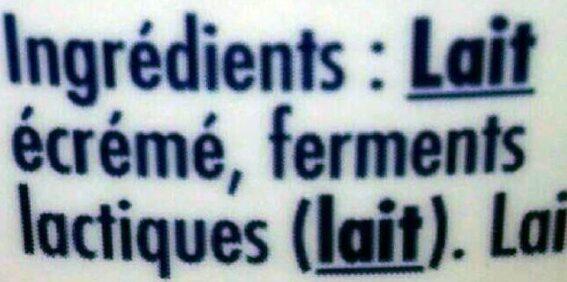 Skyr - Ingredients - fr