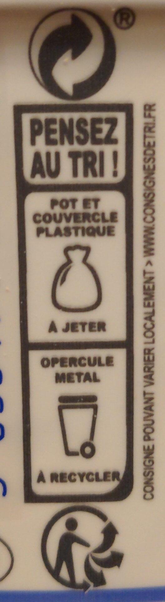 Skyr - Istruzioni per il riciclaggio e/o informazioni sull'imballaggio - fr