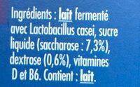 Actimel - Ingrediënten - fr