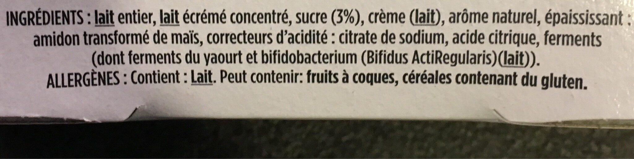 So délicat parfum coco - Ingredients