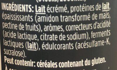 Hipro Vanille-Cookie - Ingrediënten