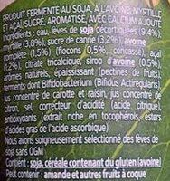 Flocons d'avoine myrtille-açaï - Ingrediënten - fr