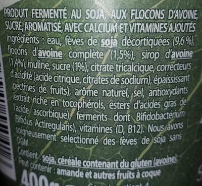 Flocons d'avoine - Ingredienti - fr