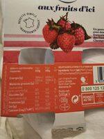 Danone aux fruits d'ici - Prodotto - fr