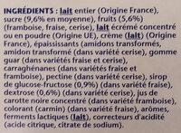 Recette crémeuse 8 x 125 g - Ingredienti - fr