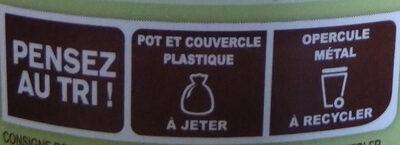 Dessert végétal Noisette Chocolat - Instruction de recyclage et/ou information d'emballage - fr