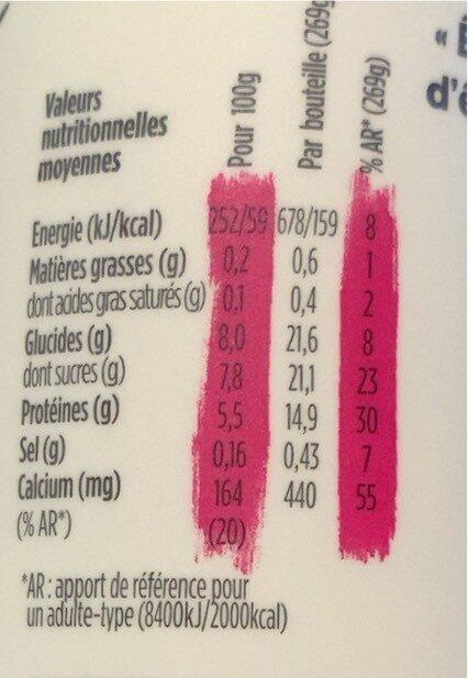 Skyr à boire - Valori nutrizionali - fr