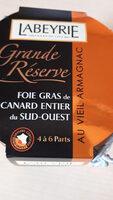 Foie gras de canard Entier grande réserve - Product