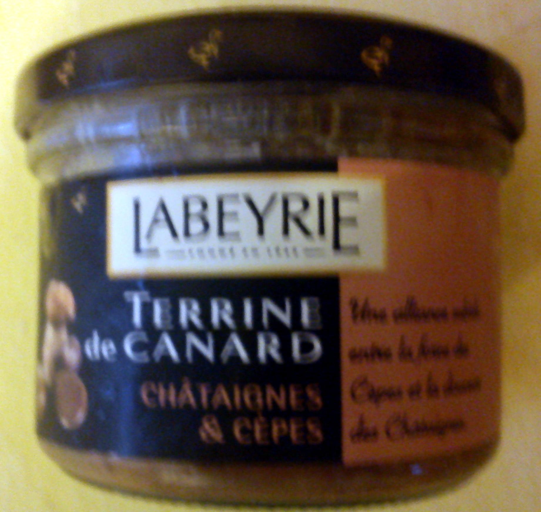 Terrine de Canard Châtaignes & Cèpes - Produit