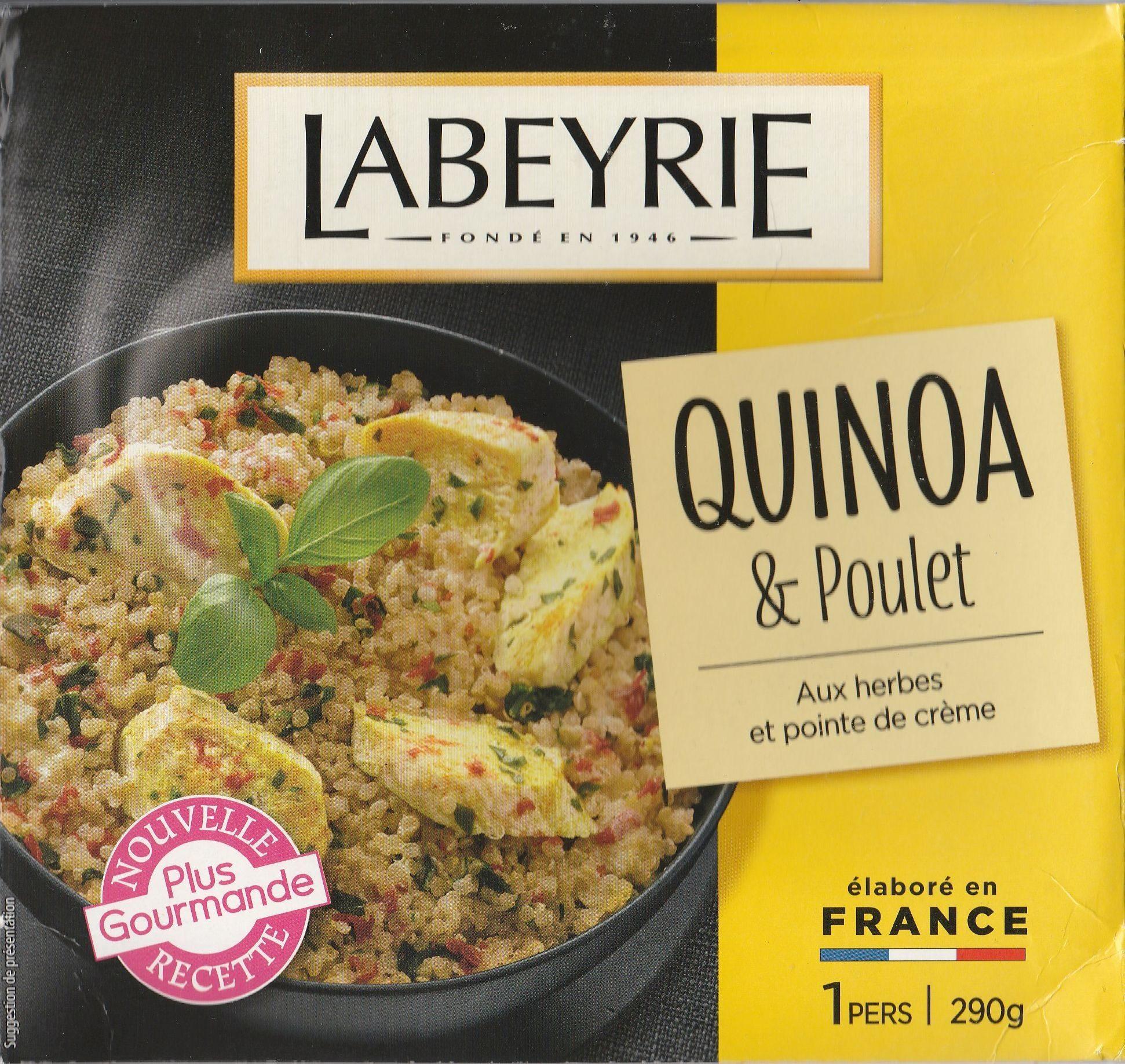Quinoa & Poulet - Produit - fr