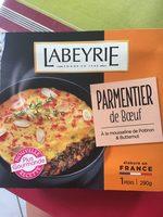 Labeyrie Parmentier de bœuf à la mousseline de potiron & Butternut la barquette de 290 g - Produit