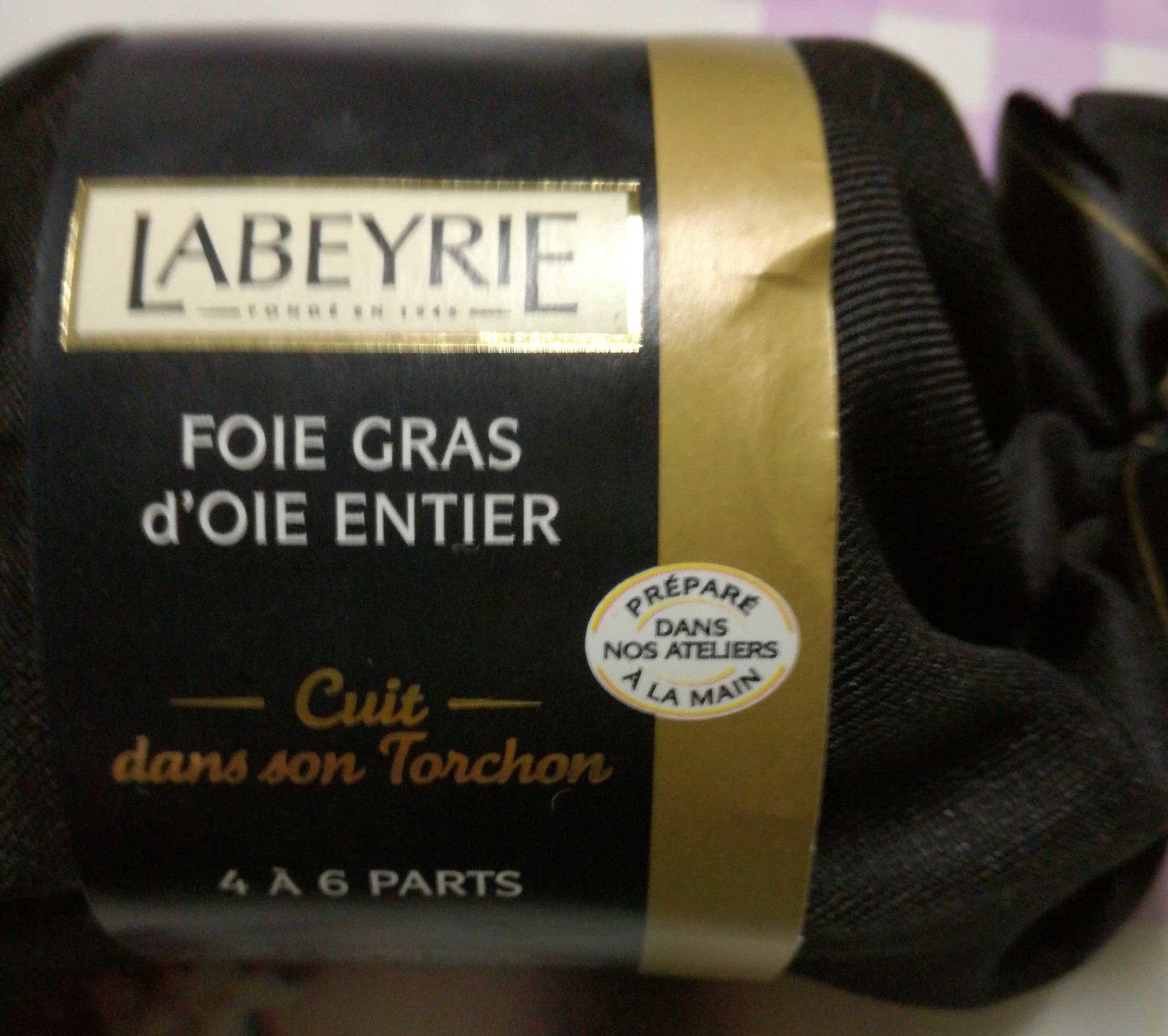 Foie Gras d'Oie Entier Cuit au Torchon - Product - fr