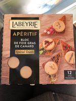 Aperitif bloc de foie gras de canard - Product - fr
