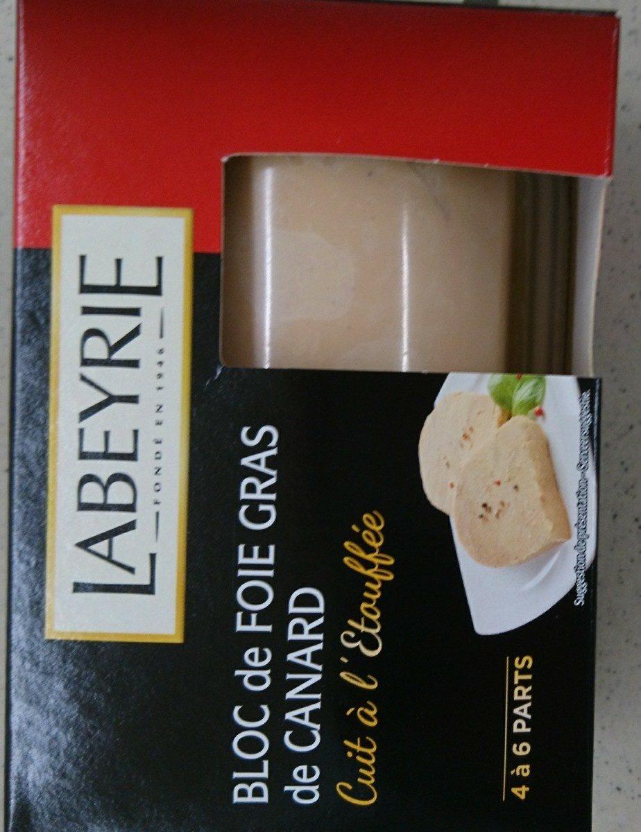 Bloc de foie gras de canard - Ingrédients