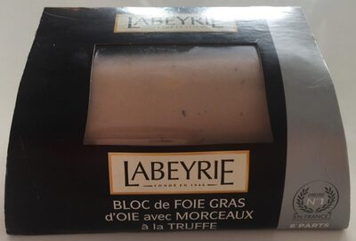 Bloc de Foie Gras d'Oie avec Morceaux a la Truffe - Product