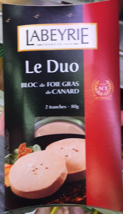 Le duo bloc de foie gras de pato - Prodotto - fr