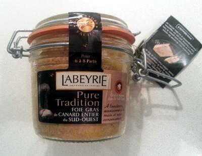 Pure Tradition foie gras de canard entier du sud-ouest - Product - fr