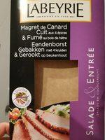 Magret de canard cuit aux 4 épices - Produit - fr
