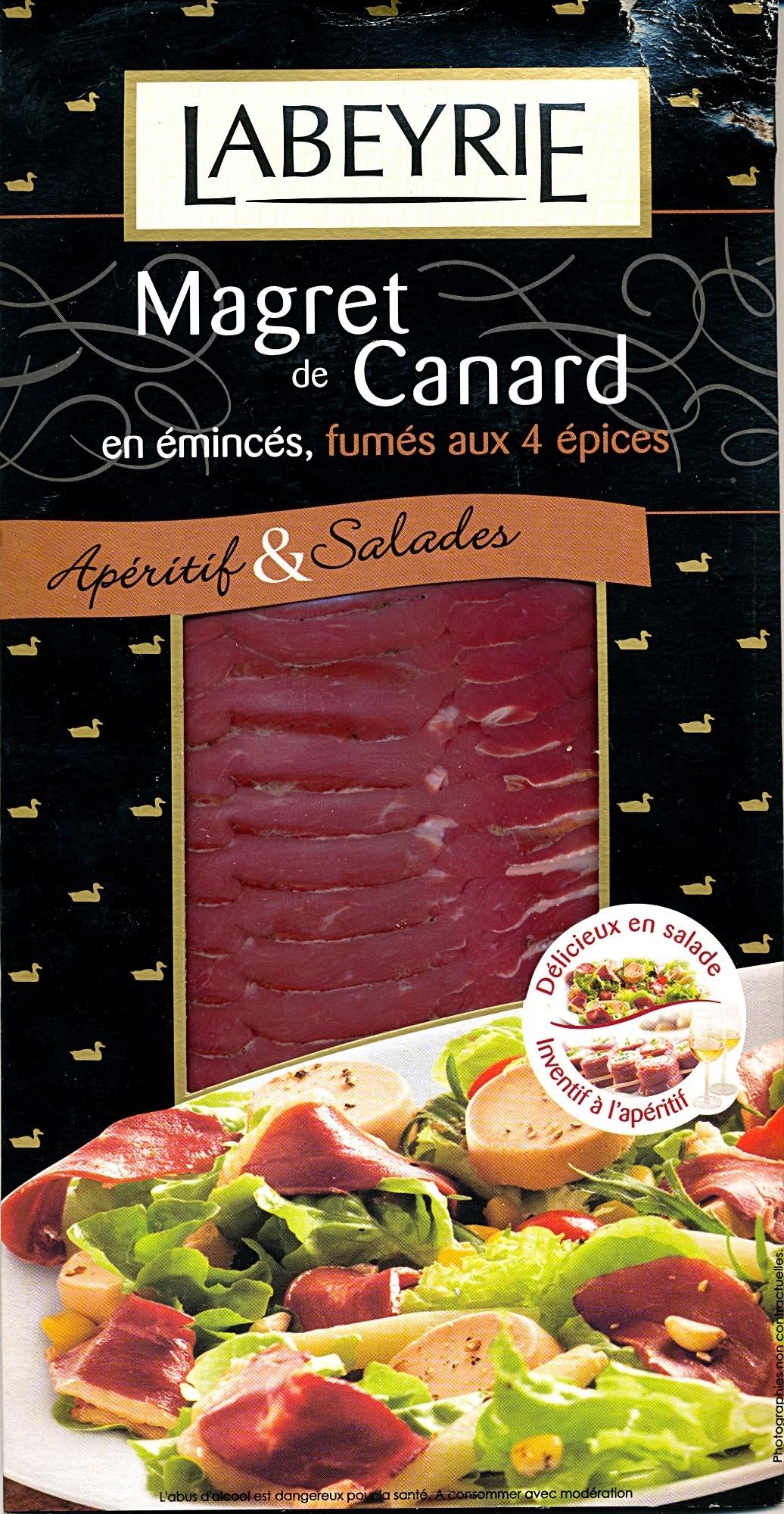 Magret de Carnard en émincés, fumés aux 4 épices - Produit - fr