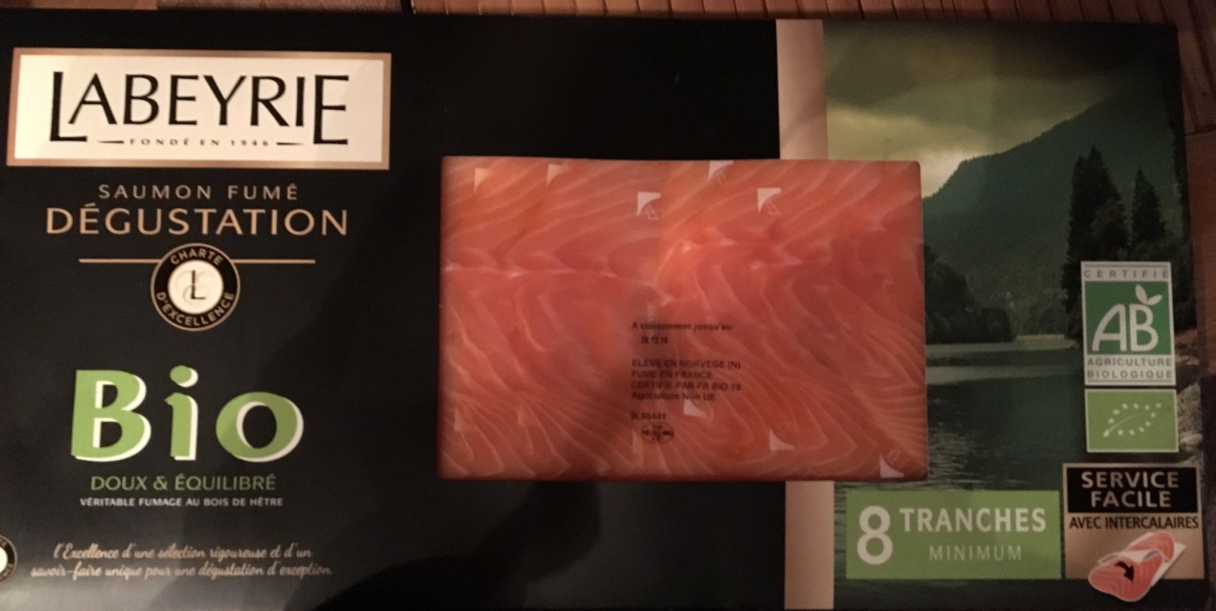 Saumon fumé Dégustation Bio - Product - fr