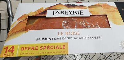 Saumon fumé dégustation le boisé d'écosse - Produit - fr