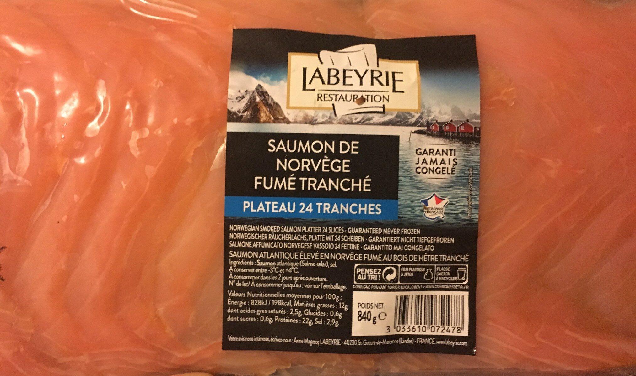 Saumon de Norvège Fumé - Product - fr